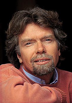 Richard Branson - portrait