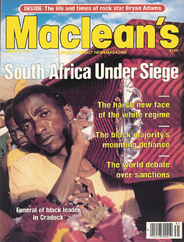 Macleans magazine cover