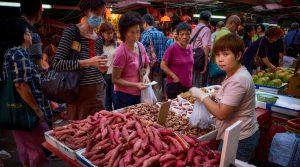 Shopping on Reclamation Street in Yau Ma Tei, Hong Kong