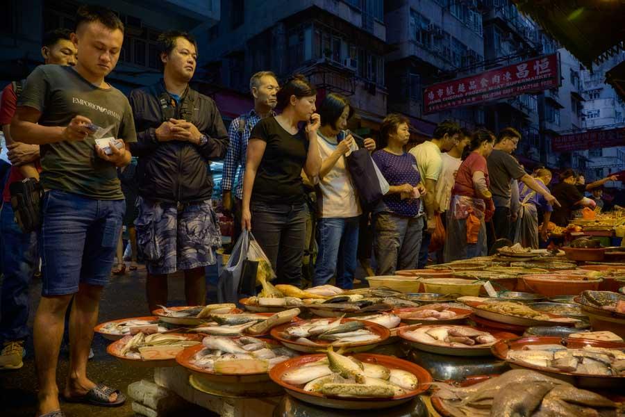 Hong Kong - Nelson Street