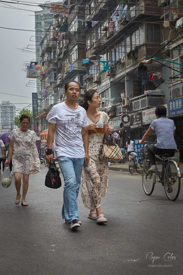 Shanghai residential district