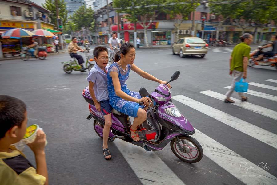 Commuting in Shanghai