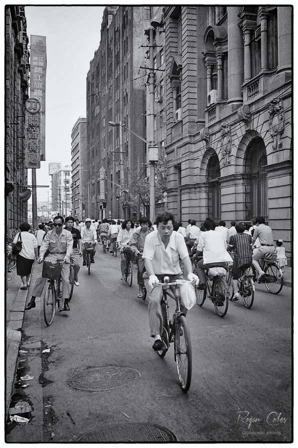 Rush hour - Shanghai 1994