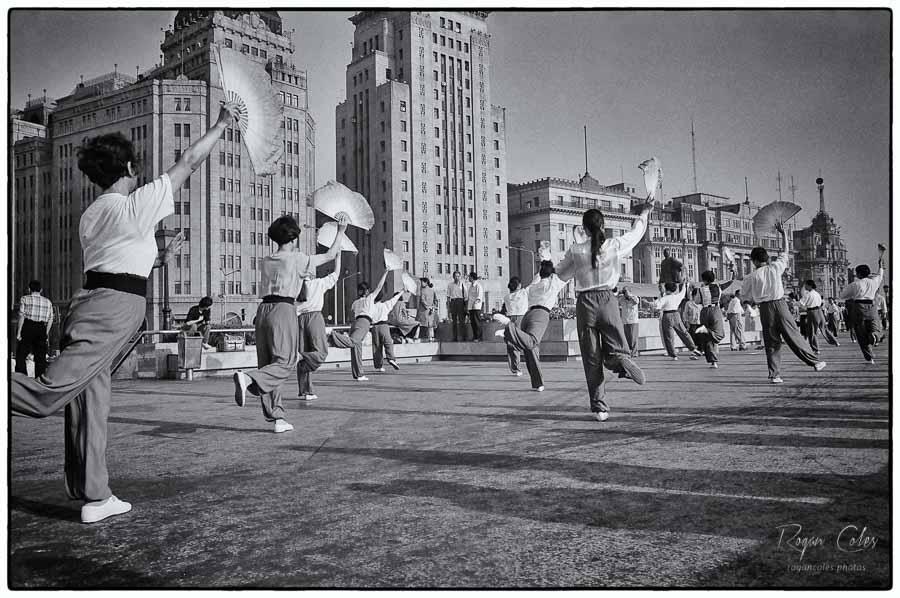 Folk dancing, Shanghai